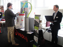 220 microbiologie B4B Connection stand veolia