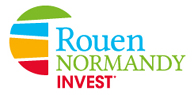 logo rouen normandy invest big 95